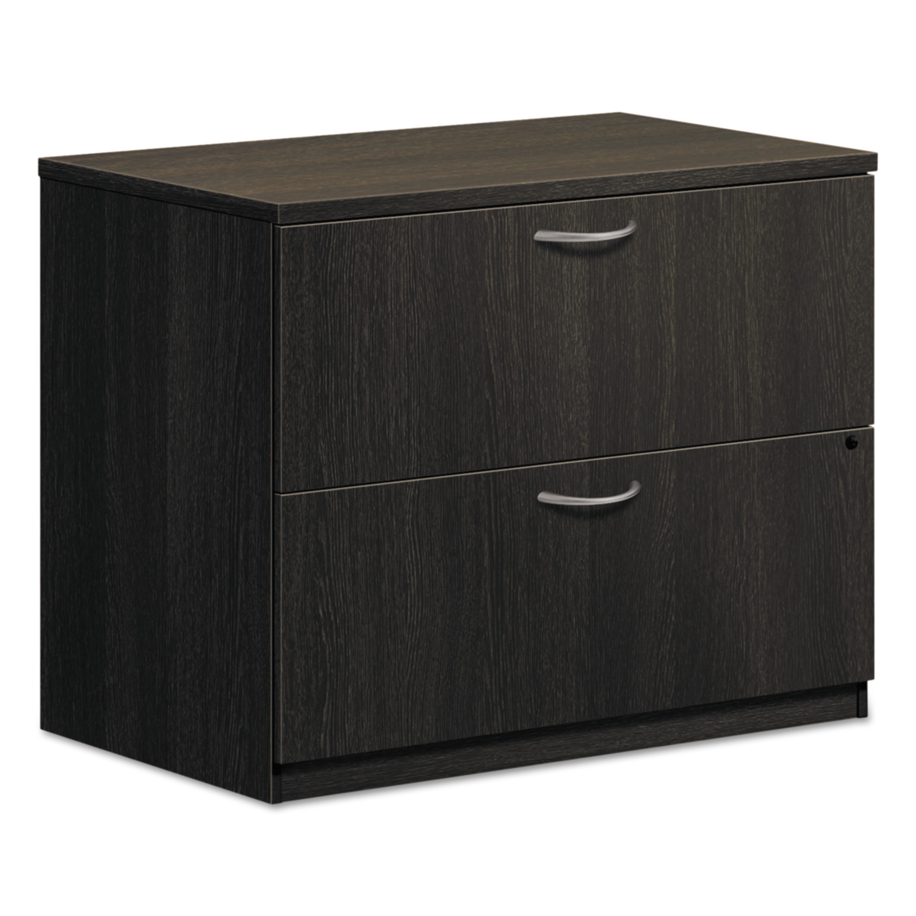 Basyx 2 Drawers Lateral Lockable Filing Cabinet Espresso  sc 1 st  Walmart.com & Basyx 2 Drawers Lateral Lockable Filing Cabinet Espresso - Walmart.com