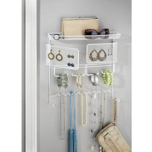 InterDesign Classico Hanging Fashion Jewelry Organizer, Wall Mount