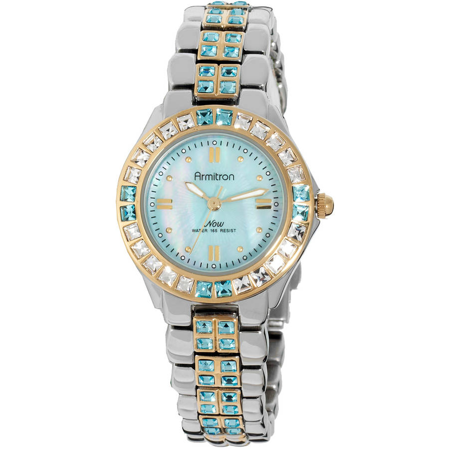 Armitron Women's Now Two-Tone Crystal Dress Watch