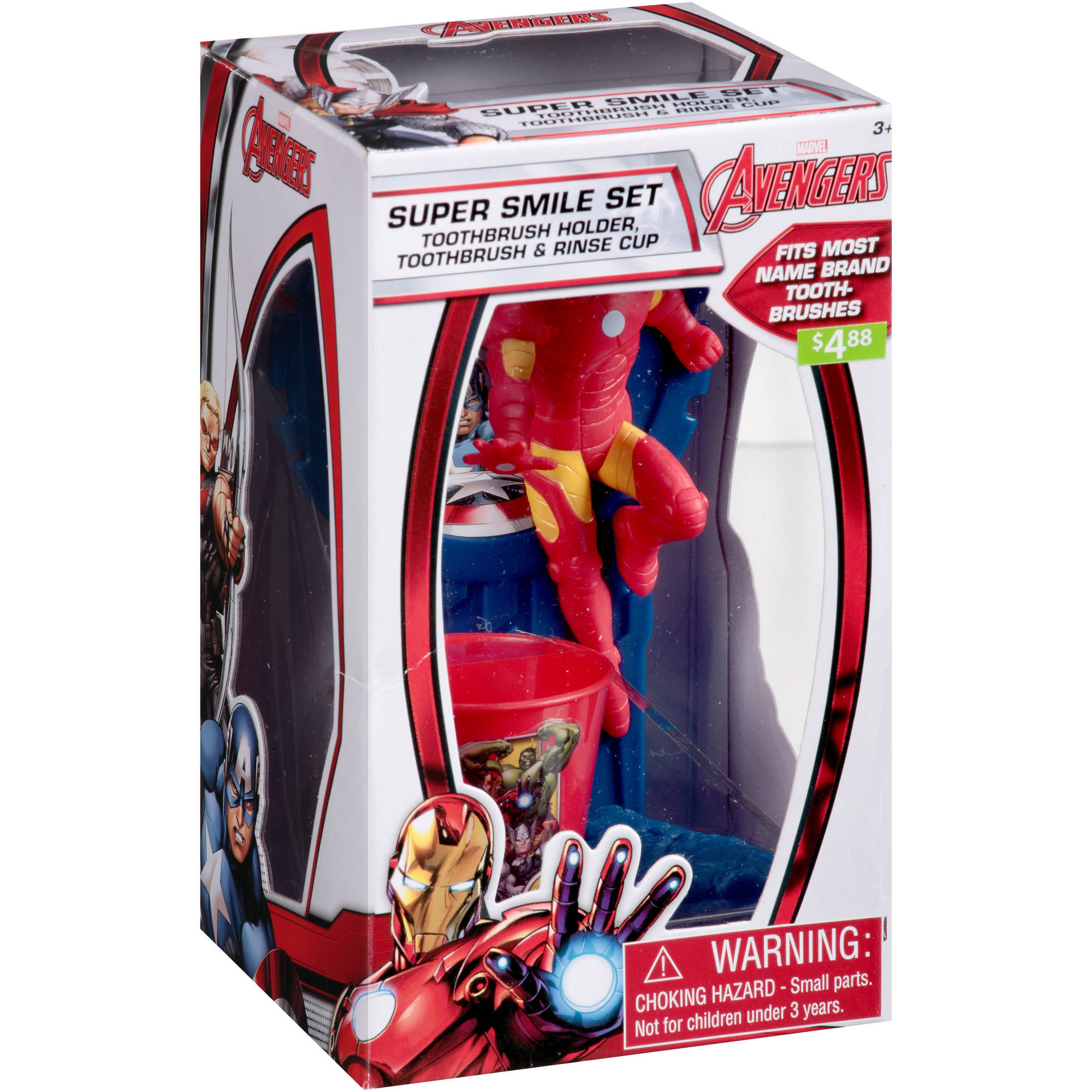 Marvel Avengers Super Smile Set, 3 pc