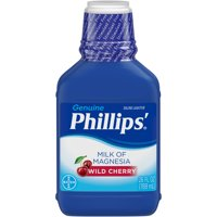 Phillips' Milk Of Magnesia Liquid Laxative, Wild Cherry, 26 Fl Oz