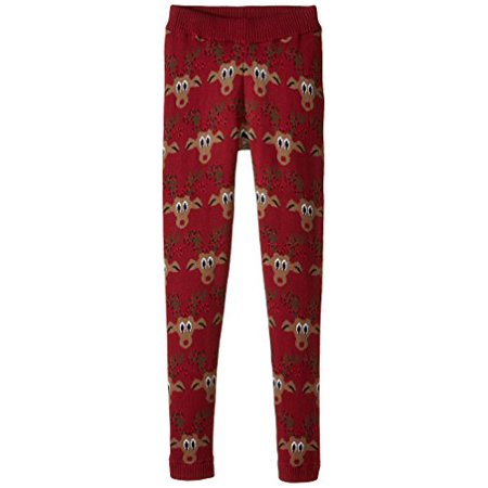 Alex Stevens Big Boys' Reindeer Lights Joggers, Ruby Red, (Ruby Reindeer)
