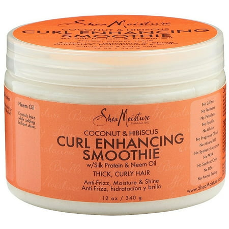 Shea Moisture Curl Enhancing Smoothie, Coconut & Hibiscus 12 oz