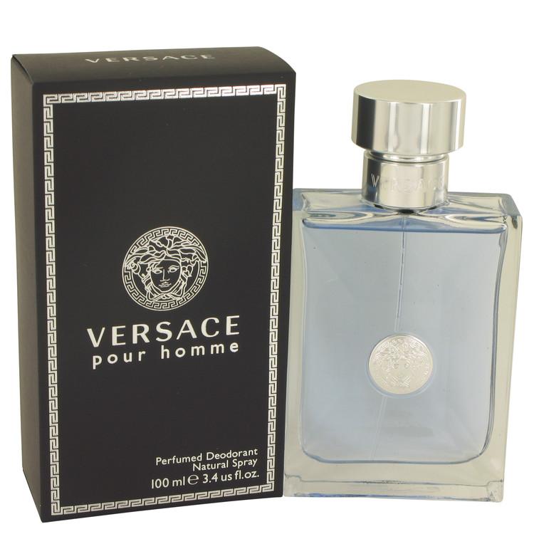 Versace Pour Homme by Versace - Men - Deodorant Spray 3.4 oz