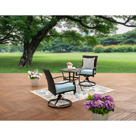 Better Homes and Garden Piper Ridge 3-Piece Wicker Bistro Set