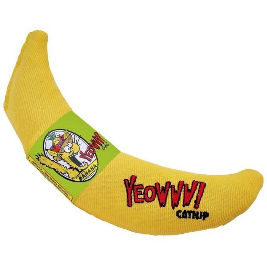Yeowww! Banana Catnip Cat Toy by Generic