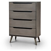 Furniture Of America Farrah Modern 4 drawer Chest Multiple Colors