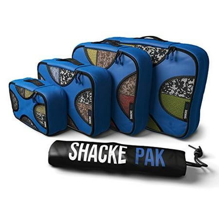 Shacke Shacke Pak 4 Set Packing Cubes Travel