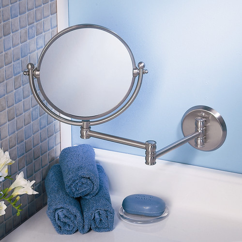 Gatco Perfect Solutions Premium Arm Bathroom/Vanity Mirror