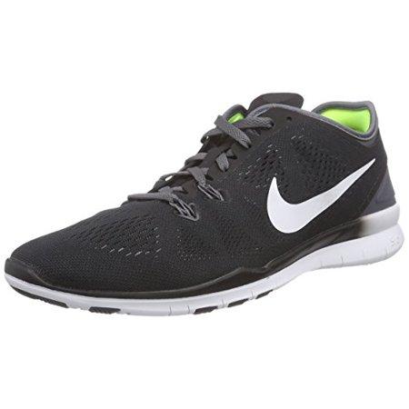 promo code d587e 1db0c Nike - Nike Women s Free 5.0 Tr Fit 5 Black White Dark Grey White Training  Shoe 9 Women US - Walmart.com