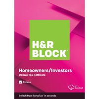 Deals on H&R Block 2019 Deluxe PC Digital