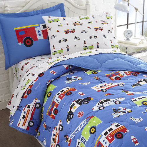 Olive Kids Heroes 5-Piece Bed in a Bag Bedding Set by Buydecorativefilm