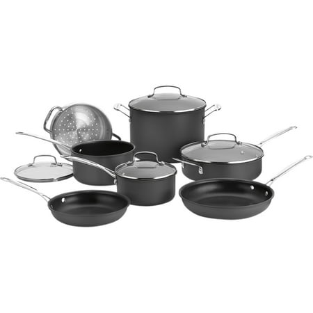 Cuisinart Chef's Classic Hard Anozdized 11 Piece Set