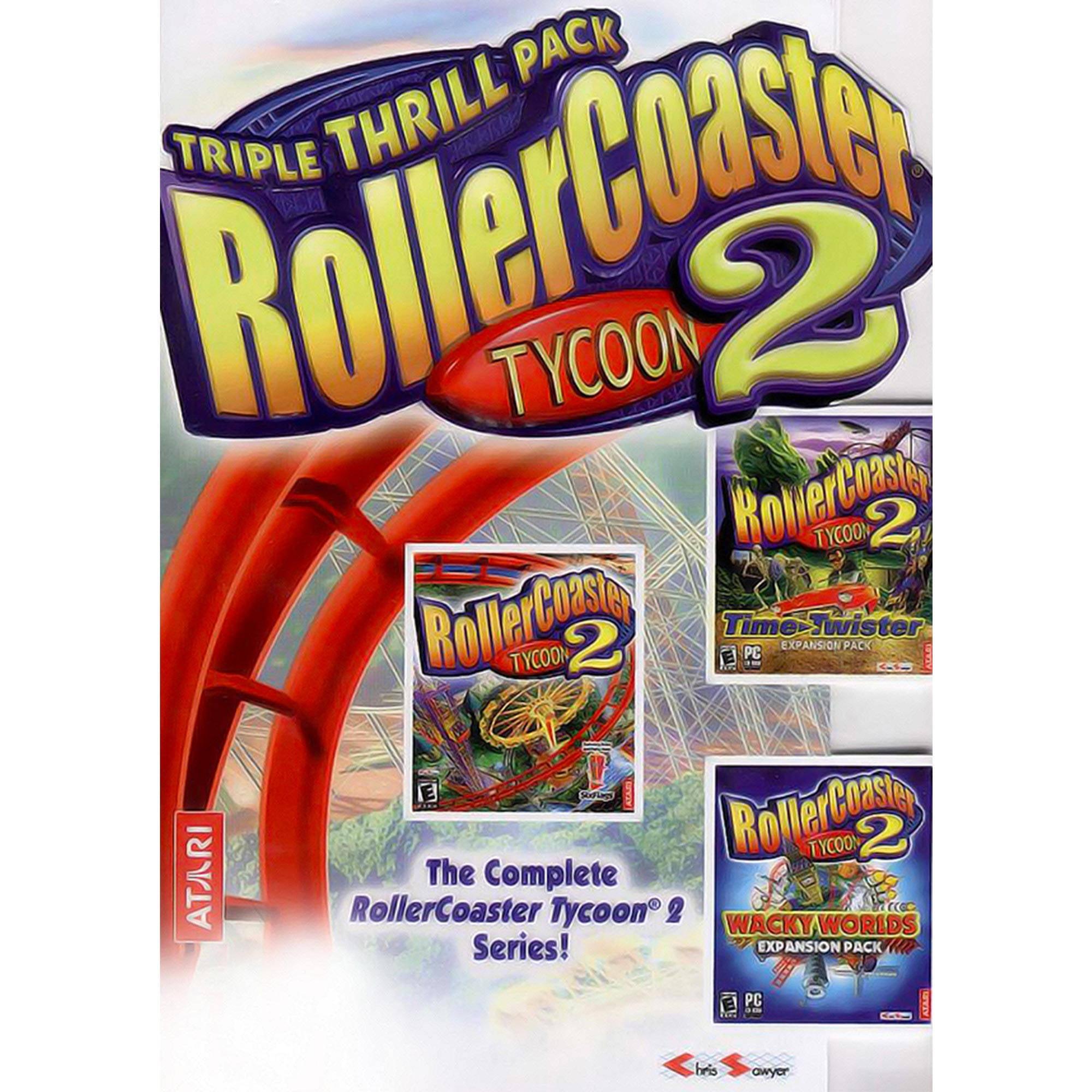 Atari RollerCoaster Tycoon 2 Triple Thrill Pack (Digital Download)