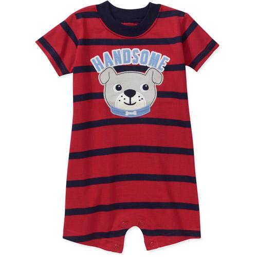 Child of Mine by Carters Newborn Baby Boys' Stripe Animal Romper