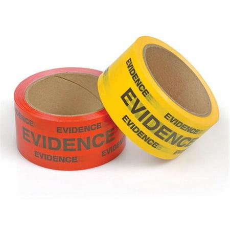 Crime Scene Tape (Crime Scene Evidence Box Sealing Tape, Red - 42065 - Armor)