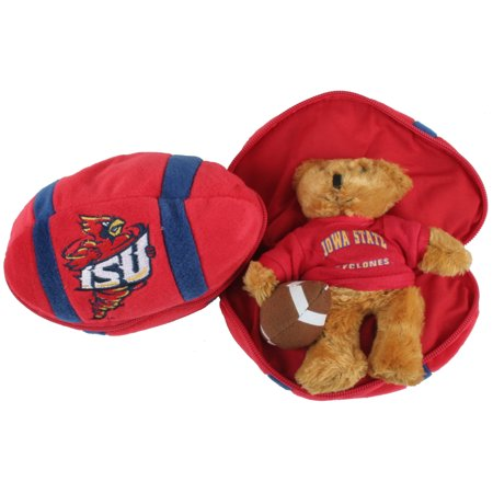 Iowa State Cyclones Stuffed Bear in a Ball - Football (Bear Balls)