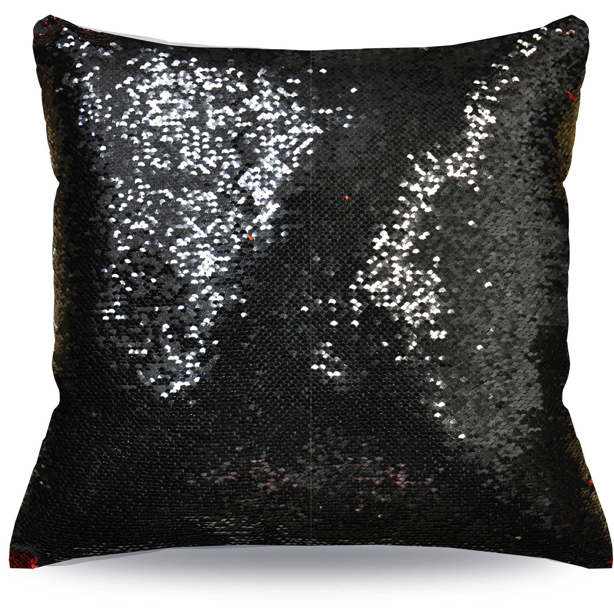 for mermaid pillows x teens com sequin walmart mainstays pillow ip reversible decorative