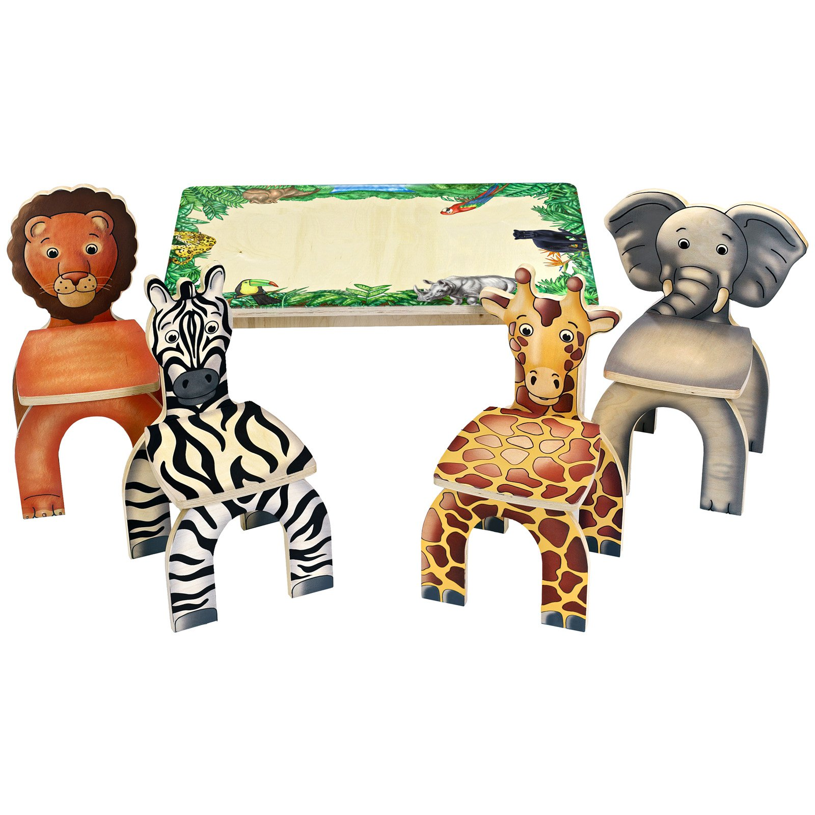 Anatex Safari Animal Table & Chairs