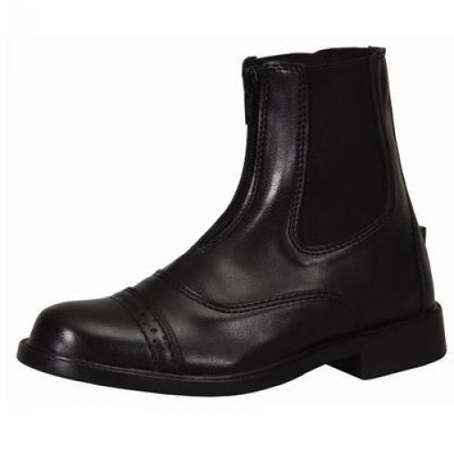 TuffRider Children's Starter Front Zip Paddock Boots, Mocha, 9 by JPC Equestrian Inc