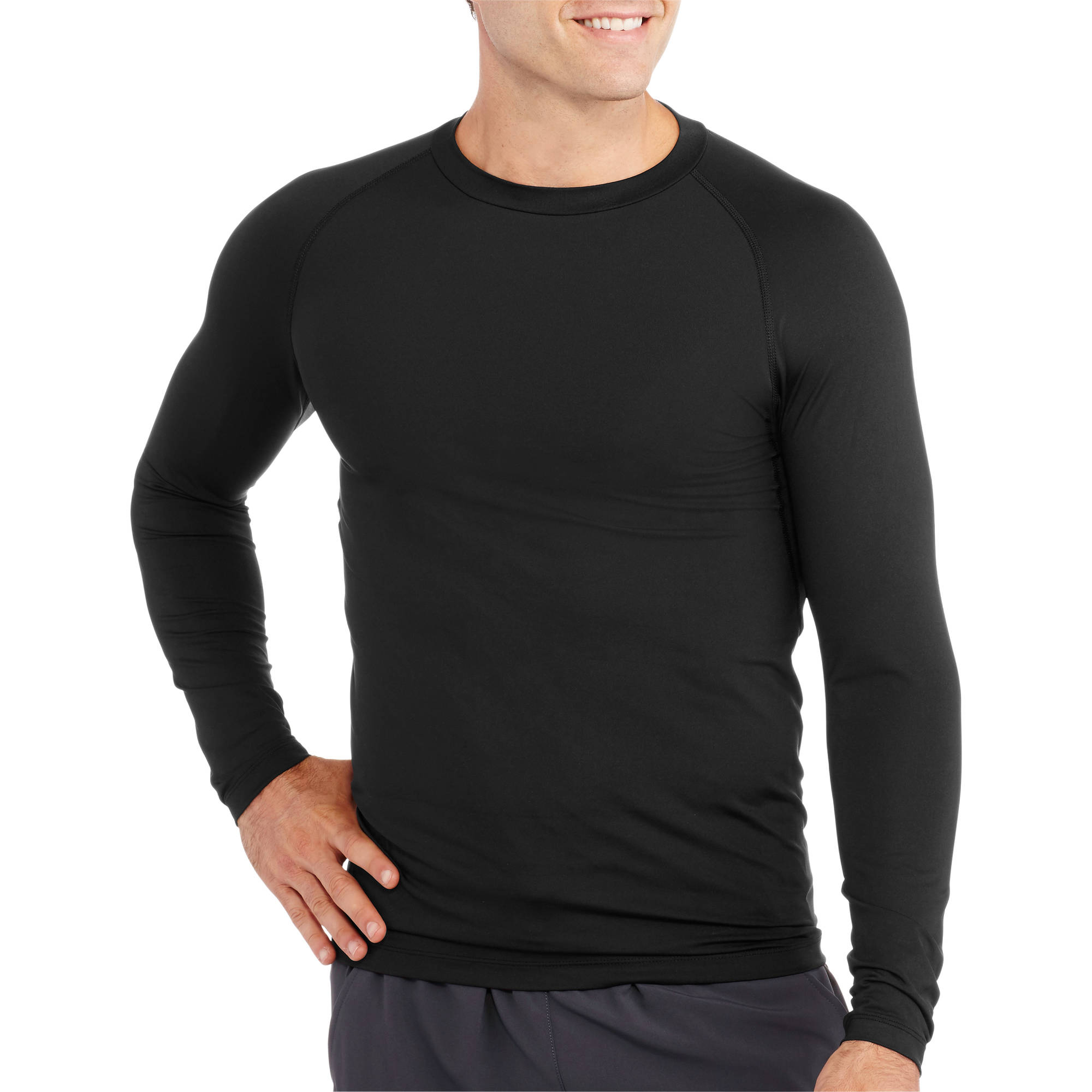Starter Big Men's Long Sleeve Fitted Base Layer Tee