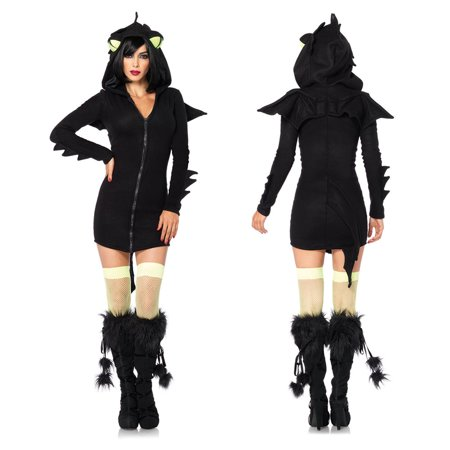 2d6a281523be Womens Cozy Dragon Halloween Costume - Walmart.com