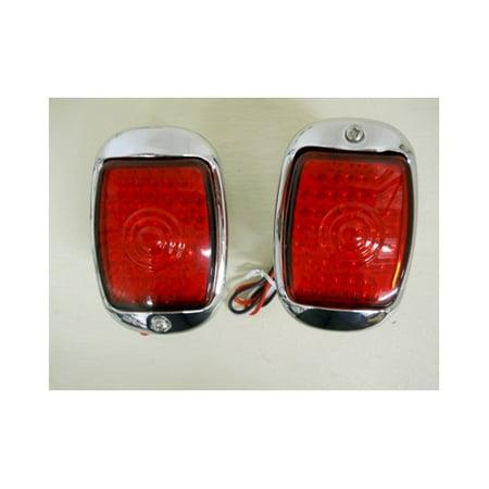 1940 - 1953 SS Chevy Truck LED Stop Turn Tail Light Kits / LED License Light