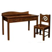 Desk w Chair (Chocolate)