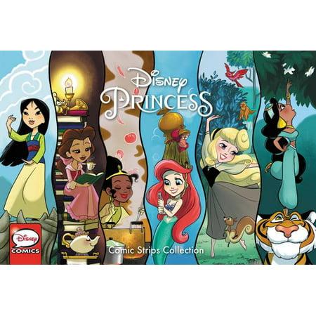 Disney Princess Comic Strips Collection Vol. 1 (Halloween Comic Strips)