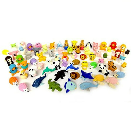 Iwako Erasers Animal Overstock Pack of 20 (Iwako Food Erasers)
