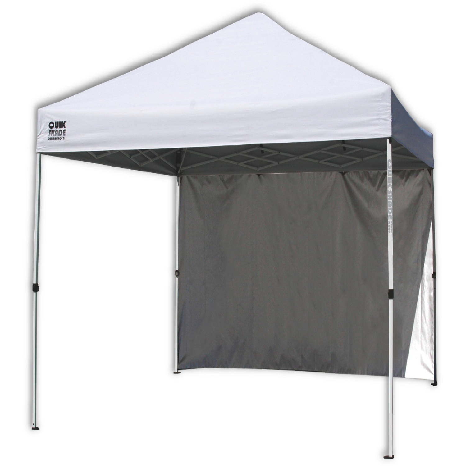 Quik-Shade Mercantile C100NL 10' x 10' Instant Canopy with Wall Panel,