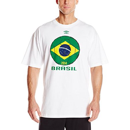 UMBRO World Cup Design Country Tee, White, 3X-Large ()