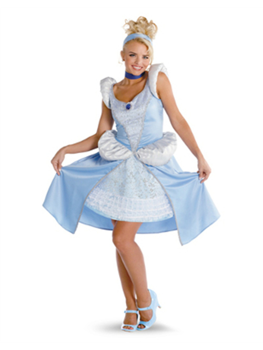 Womens Prestige Quality Sassy Disney Princess Cinderella Costume by Disguise Costumes
