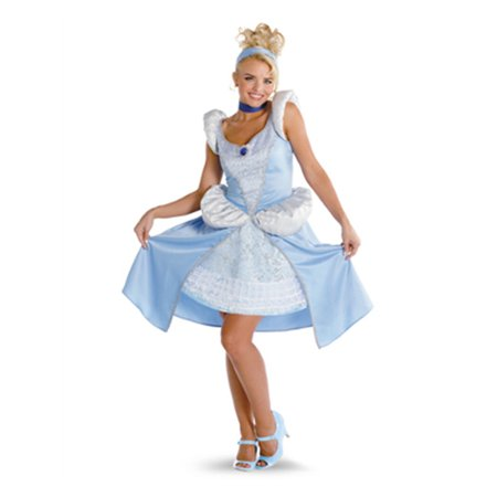Womens Prestige Quality Sassy Disney Princess Cinderella Costume