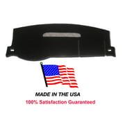 2008-2013 Chevy Silverado 3500 Black Carpet Dash Cover Mat CH83-5 With 1 Glove Box