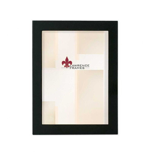 Lawrence Frames 755523 Lawrence Frames 2x3 Black Wood Picture Frame - Gallery Collection