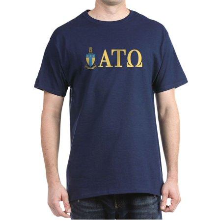 9c47edd7062e0 CafePress - Alpha Tau Omega Letters - 100% Cotton T-Shirt - Walmart ...