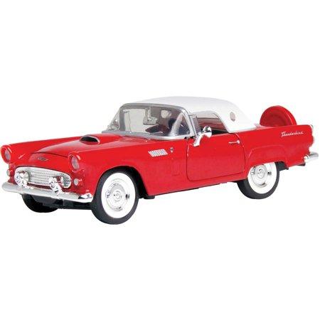 1956 Ford Thunderbird Hardtop Model 124 Scale Walmart