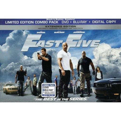 Universal Fast Five Bd Std Ws