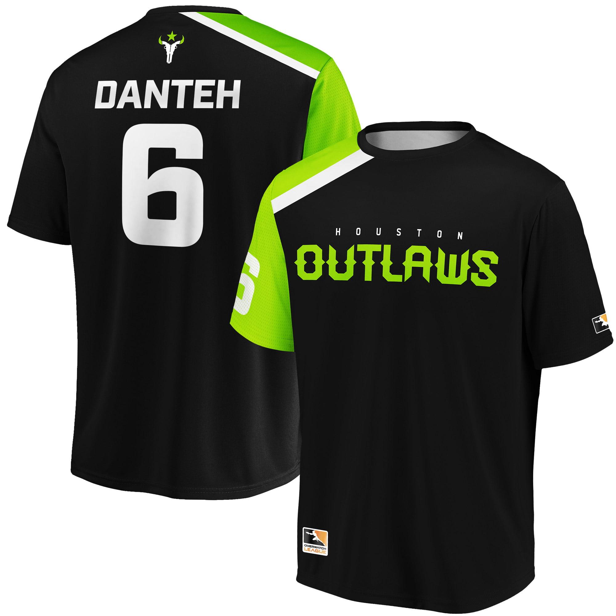 Danteh Houston Outlaws Overwatch League Replica Home Jersey - Black