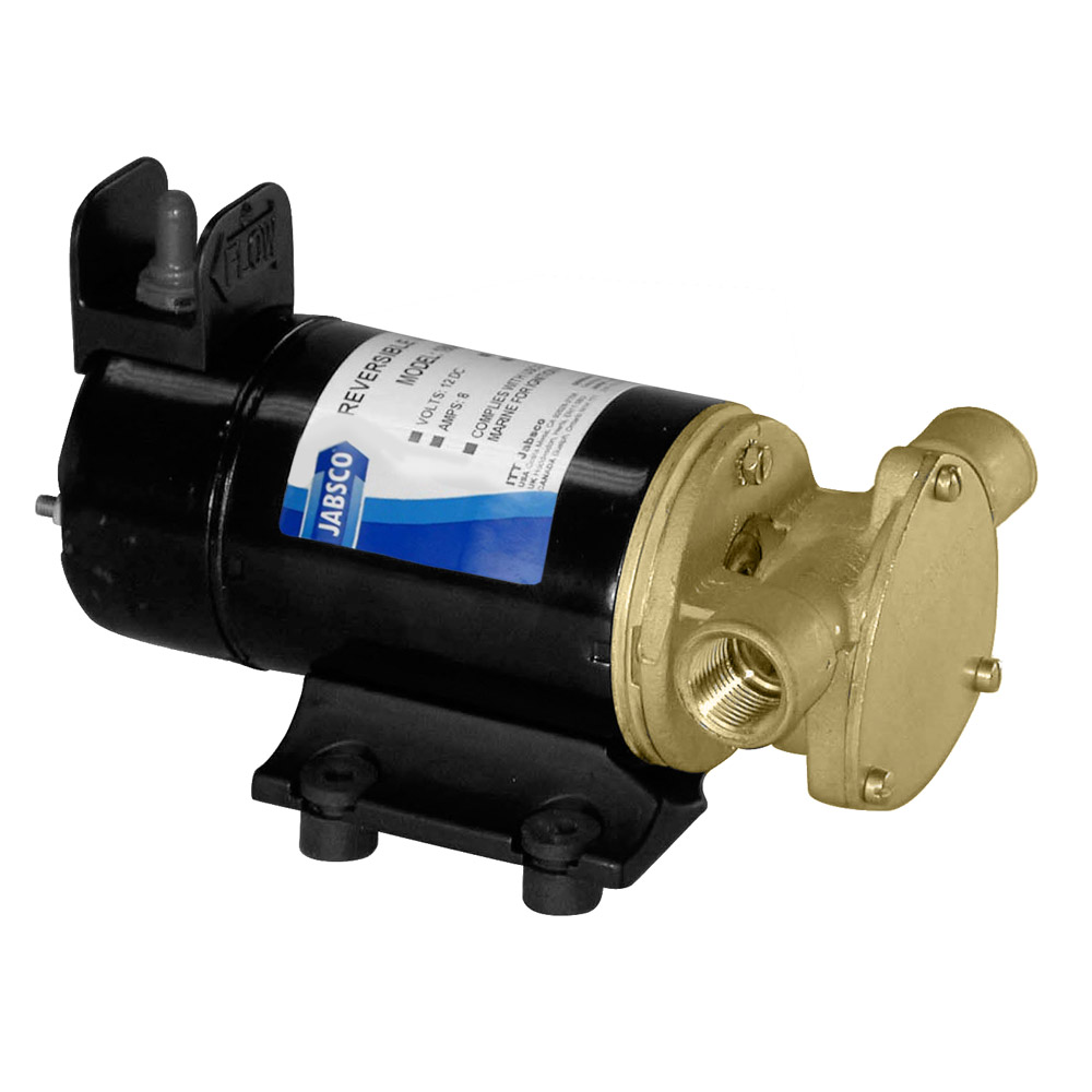 JABSCO LIGHT DUTY DIESEL  TRANSFER VANE PUMP REVERSIBLE