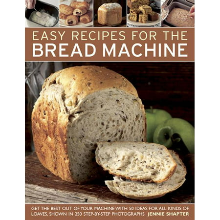 Easy Recipes for the Bread Machine: Get the Best Out of Your Bread Machine with 50 Ideas for All Kinds of Loaves, Shown in 250 Step-By-Step Photographs (Paperback) Baking in bread machines has become hugely popular over the past few years, and this book will help you use your bread machine to its full potential. The collection of recipes has been organised into chapters by styles of bread, including examples from many countries. Each has been tested and adapted for baking at home using modern bread machines, including rolls and cakes, which are mixed in the machine and baked in a conventional oven.