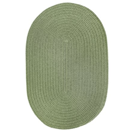WearEver Olive Poly 5X8 Oval ()