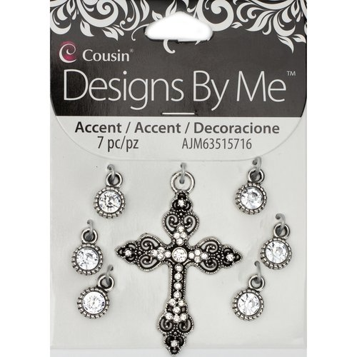 Cousin Accent Cross With Drops