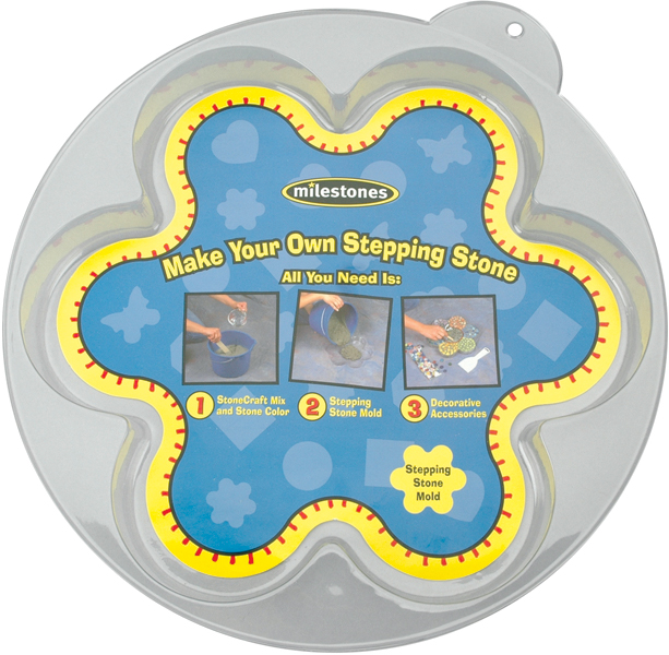 Stepping Stone Mold-Flower 12""