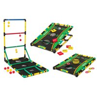 EastPoint Sports Go! Gater Ladderball, Bean Bag Toss and Washer Toss Set; Three Great Games in One for All Ages and Skill Sets; Enjoy Entertainment Anywhere with Easy Assembly for Family Fun