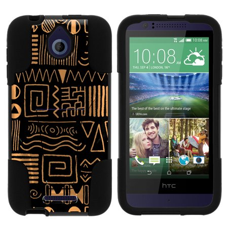 Htc Desire 510 Strike Impact Dual Layer Shock Absorbing Case With