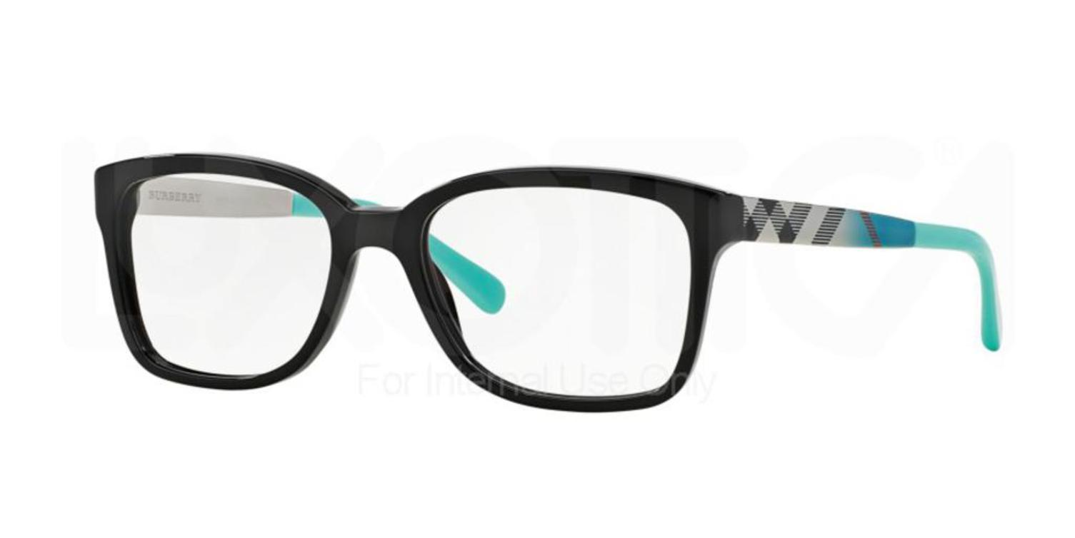 2c77dbb41e70 Eyeglasses Burberry BE 2143 3001 BLACK - Walmart.com