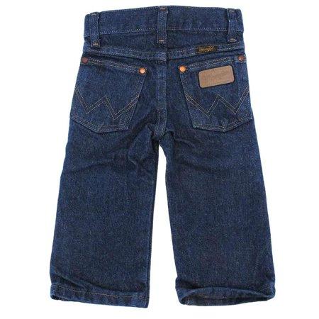 Wrangler Boys & Toddler George Strait Original Cowboy Cut Jean - Dark Wash