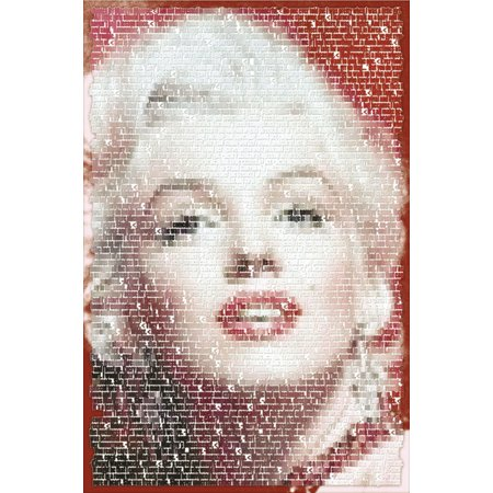 Marilyn Monroe Written Images Movie Poster 24X36 Inch
